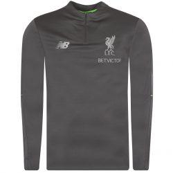 Sweat zippé Liverpool Elite gris 2018/19