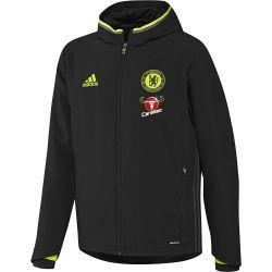Veste avant-match Chelsea 2016 - 2017 noir/gris