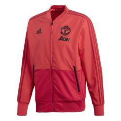 Veste survêtement Manchester United rouge 2018/19