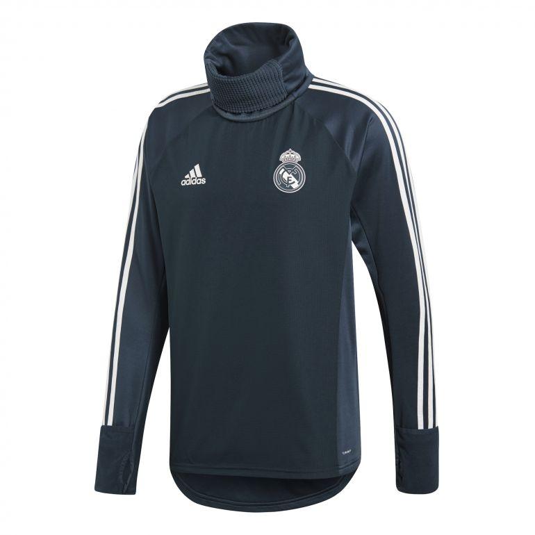 Sweat col montant Real Madrid bleu foncé 2018/19