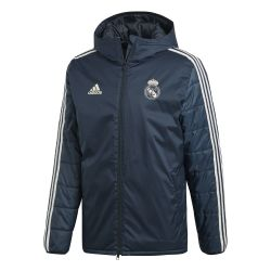 Doudoune Real Madrid noir 2018/19