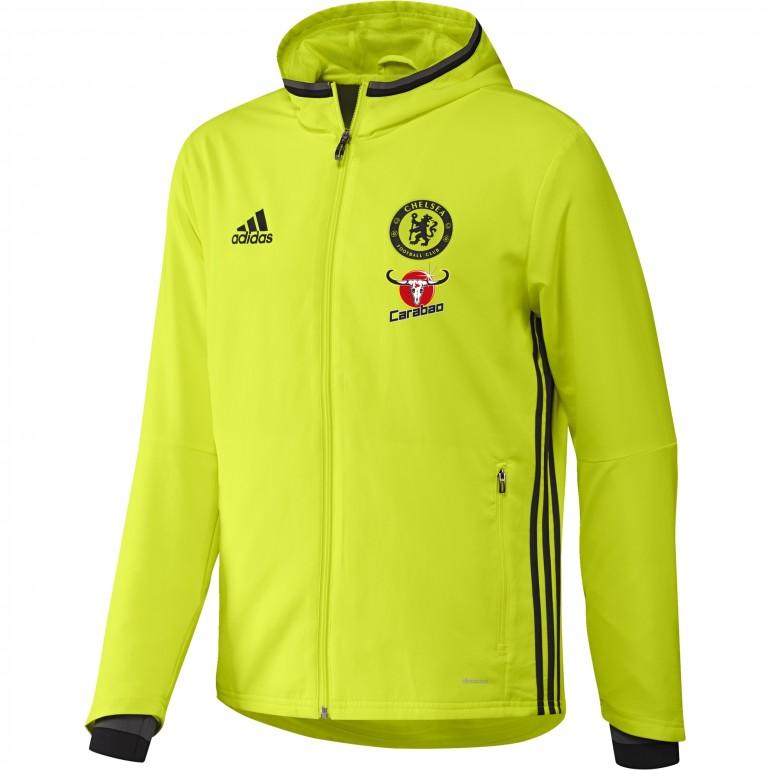 Veste avant-match Chelsea 2016 - 2017 jaune/noir