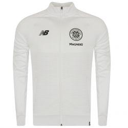 Veste survêtement Celtic Glasgow Elite blanc 2018/19