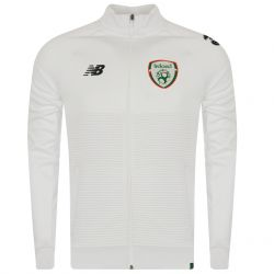 Veste survêtement Irelande Elite blanc 2018/19