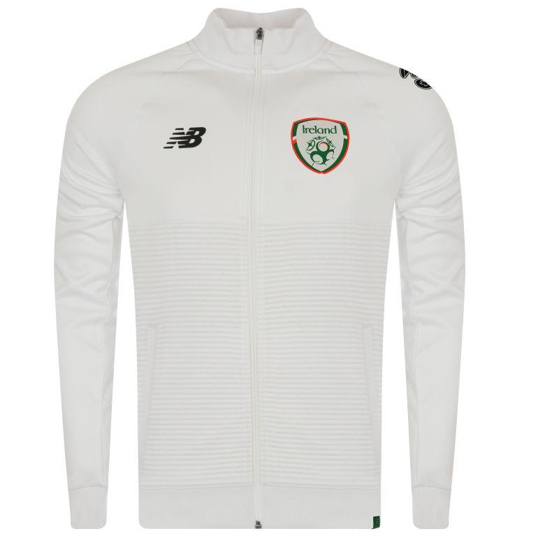 Veste survêtement Irelande Elite blanc 2018/19