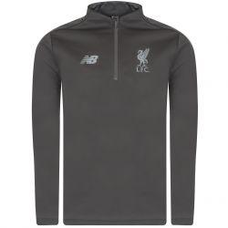 Sweat zippé Liverpool gris 2018/19