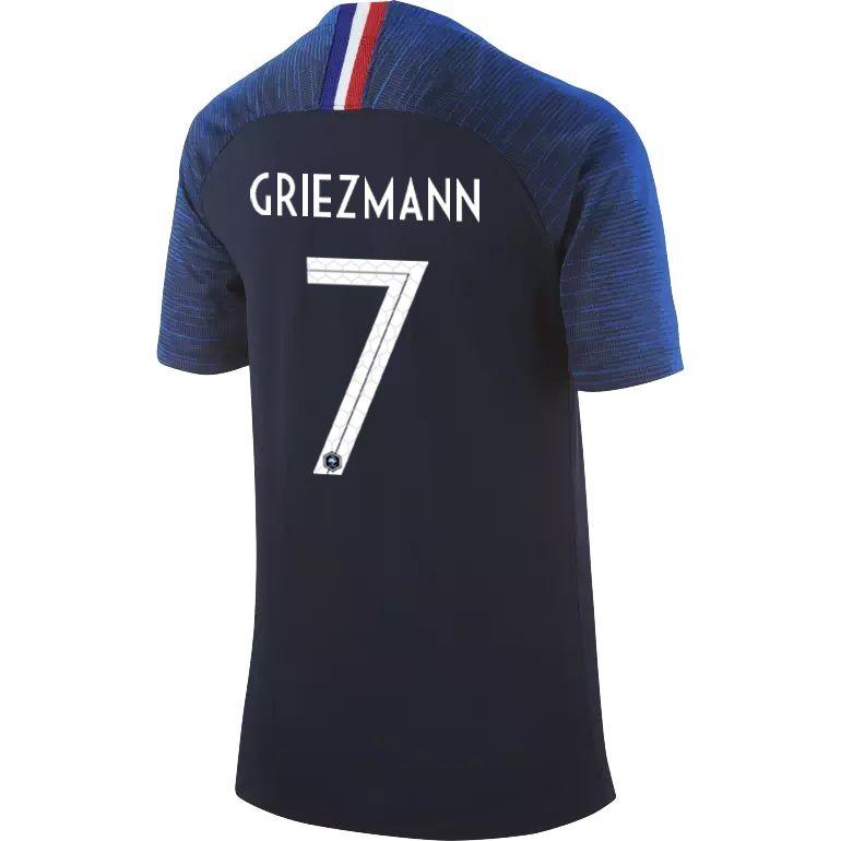 Maillot junior Griezmann Equipe de France domicile 2018
