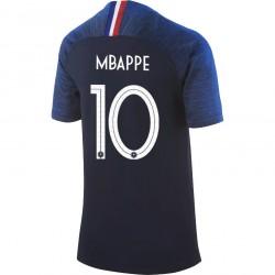 Maillot junior Mbappé Equipe de France domicile 2018