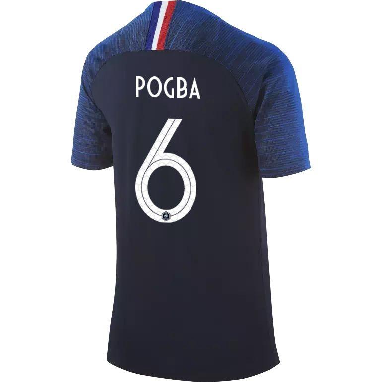 Maillot junior Pogba Equipe de France domicile 2018