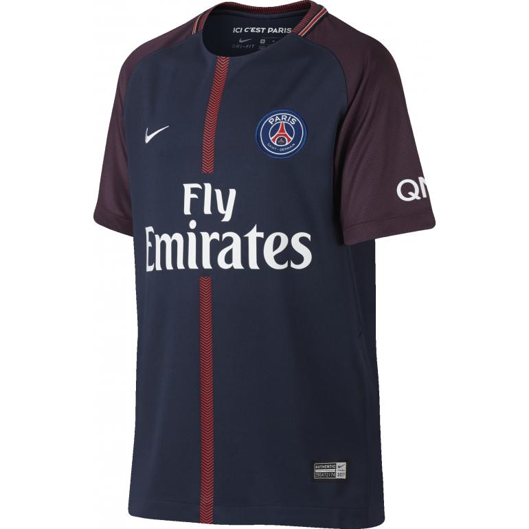 Maillot Junior PSG domicile 2017/18
