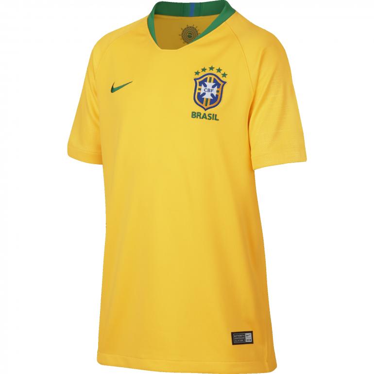 Maillot junior Brésil domicile 2018