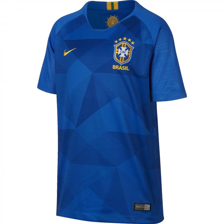 Maillot junior Brésil extérieur 2018