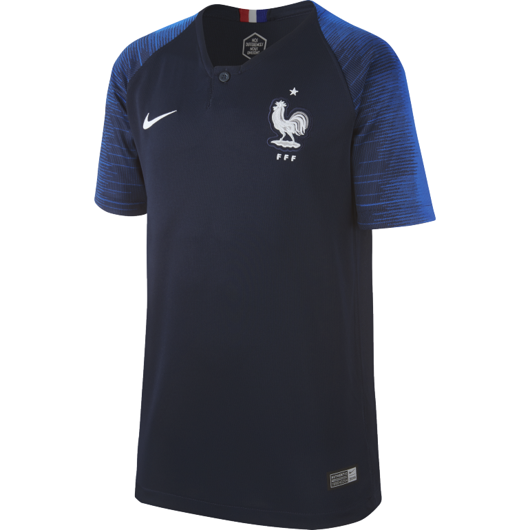 Maillot junior Equipe de France domicile 2018