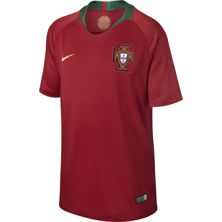Maillot junior Portugal domicile 2018