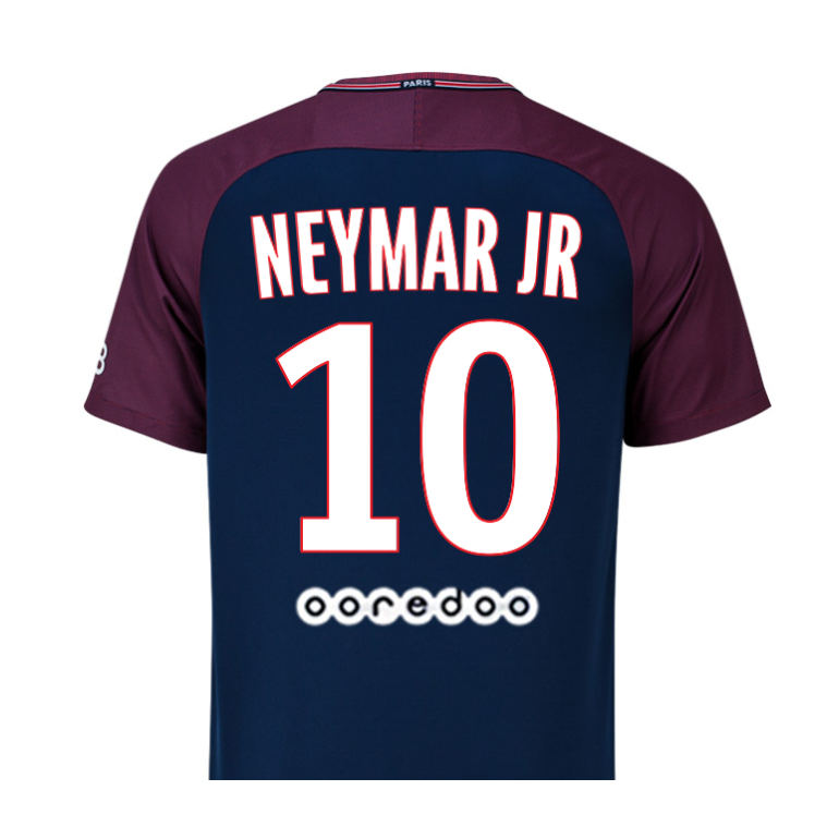 Maillot Junior Neymar PSG domicile 2017/18
