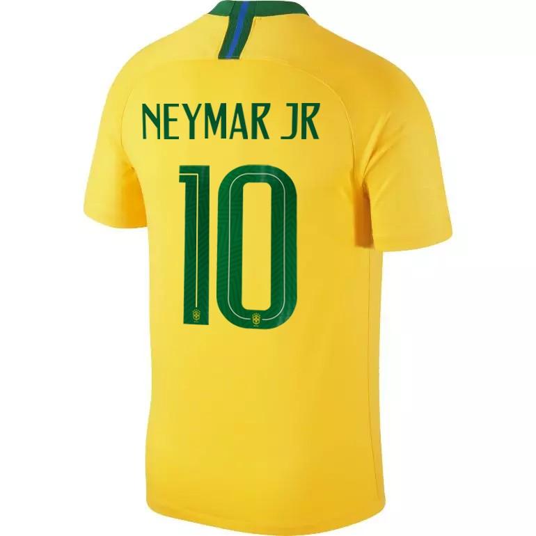 Maillot Neymar Brésil domicile 2018