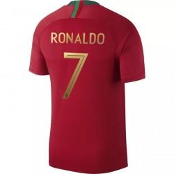 Maillot Cristiano Ronaldo Portugal domicile 2018