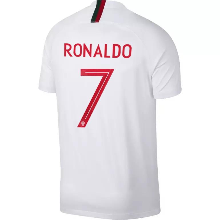 Maillot Cristiano Ronaldo Portugal extérieur 2018