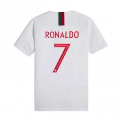 Maillot junior Cristiano Ronaldo Portugal extérieur 2018