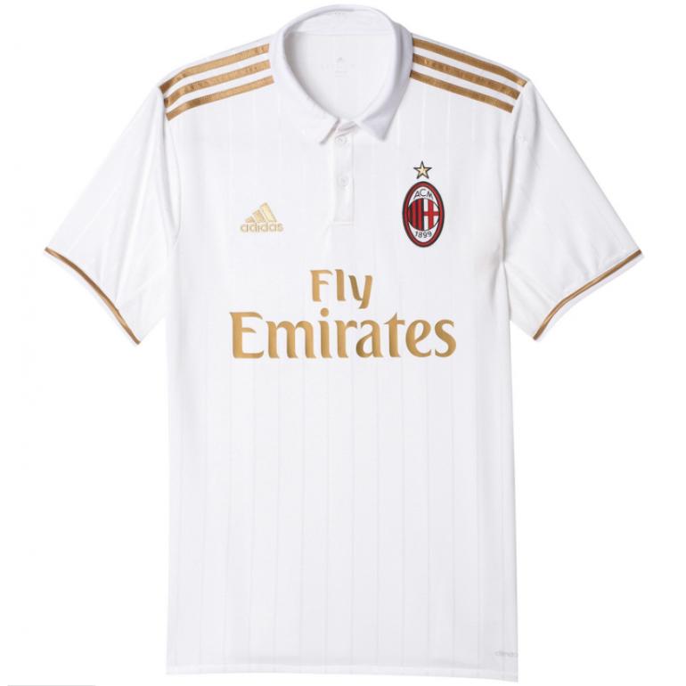 Maillot extérieur Milan AC 2016 - 2017