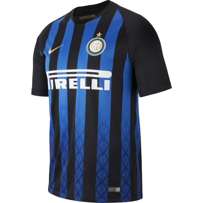 maillot inter milan domicile 2018 19 sur. Black Bedroom Furniture Sets. Home Design Ideas
