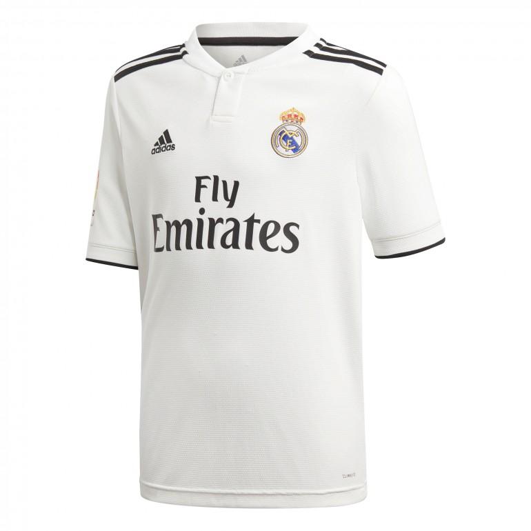 Maillot junior Real Madrid domicile LFP 2018/19