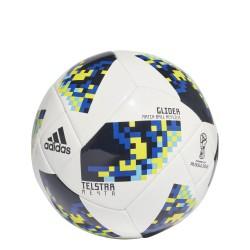 Ballon Coupe du Monde Glide blanc bleu