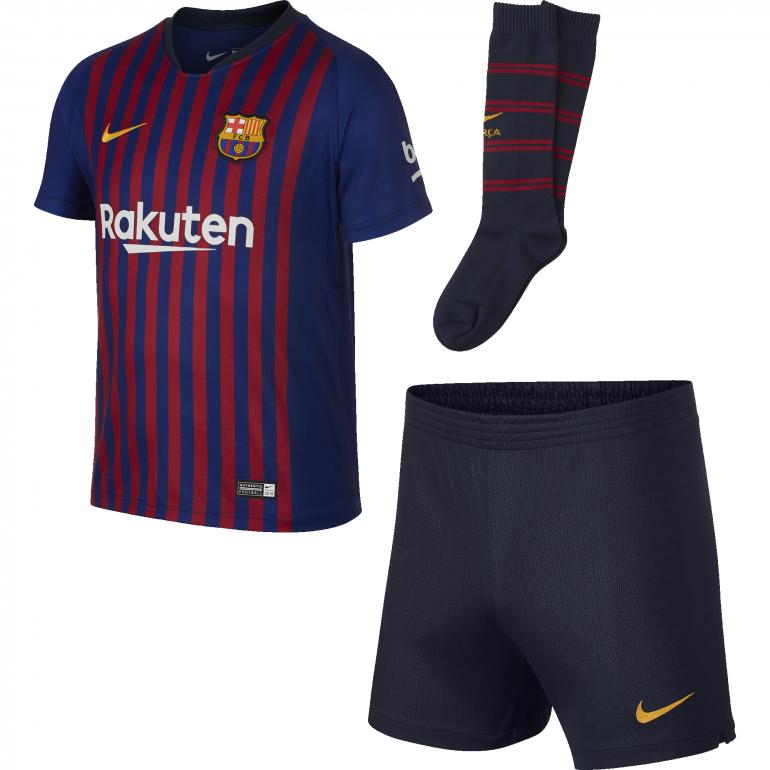 Tenue enfant FC Barcelone domicile 2018/19