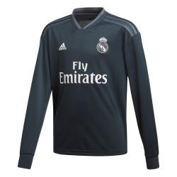 Maillot junior Real Madrid extérieur manches longues 2018/19