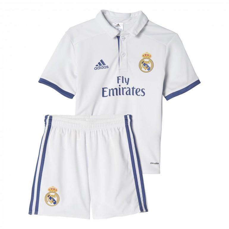 Ensemble enfant Real Madrid domicile 2016 - 2017