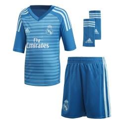 Tenue enfant gardien Real Madrid extérieur 2018/19