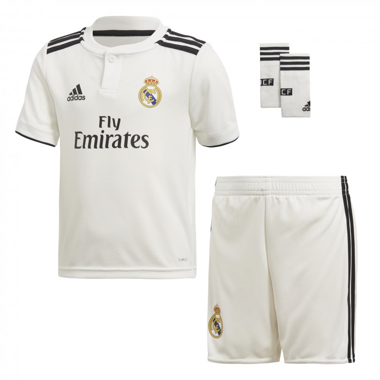 Tenue enfant Real Madrid domicile 2018/19