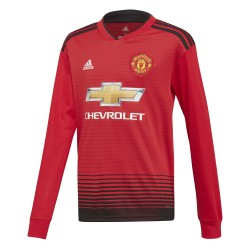 Maillot Manchester United domicile manches longues junior 2018/19