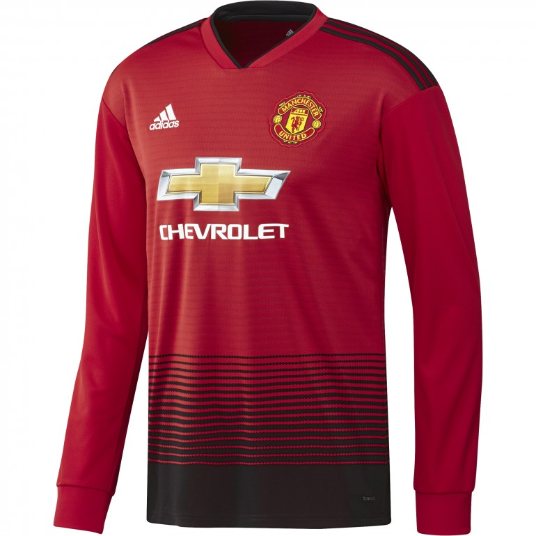 Maillot Manchester United manches longues domicile 2018/19