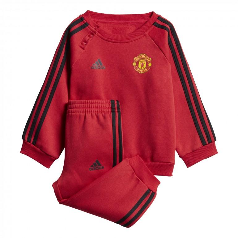 Ensemble survêtement enfant Manchester United rouge 2018/19