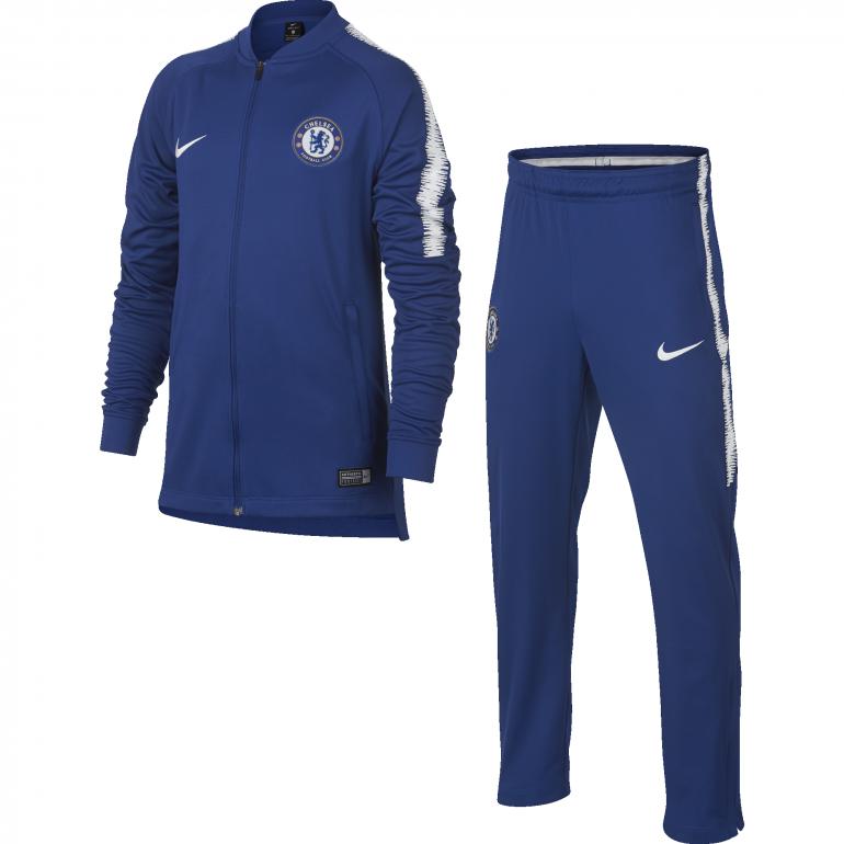 Ensemble Survêtement Junior Chelsea bleu 2018/19