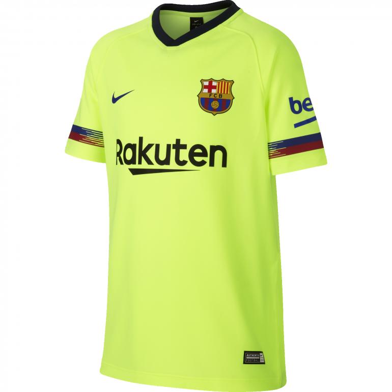 Maillot junior réplique FC Barcelone extérieur 2018/19