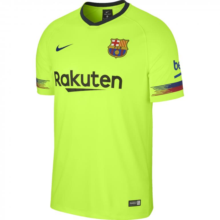 Maillot réplique FC Barcelone extérieur 2018/19