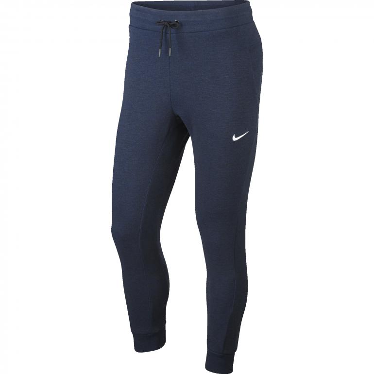 Pantalon survêtement PSG bleu foncé molleton 2018/19