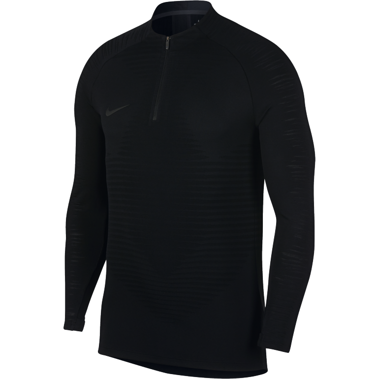 Sweat zippé Nike VaporKnit noir 2018/19