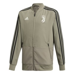 Veste survêtement junior Juventus gris 2018/19