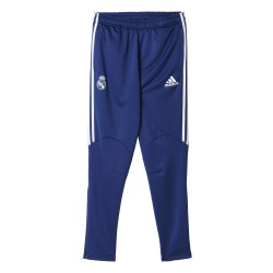 Pantalon survêtement avant-match Real Madrid bleu 2016 - 2017
