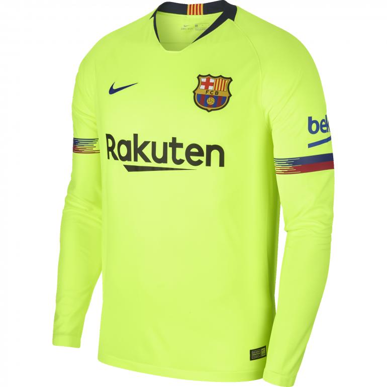 Maillot manches longues FC Barcelone extérieur 2018/19