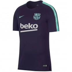 Maillot entraînement FC Barcelone bleu vert 2018/19