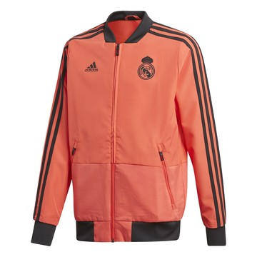 Veste junior survêtement Real Madrid Europe rouge 2018/19