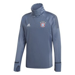 Sweat col montant Bayern Munich Europe gris 2018/19