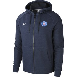 Sweat à capuche PSG bleu 2018/19
