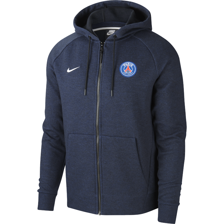 Sweat à capuche PSG bleu 2018/19