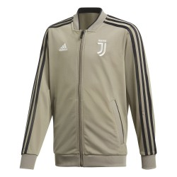 Veste survêtement junior Juventus beige 2018/19