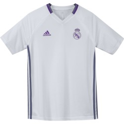 Maillot entraînement Real Madrid junior blanc 2016 - 2017